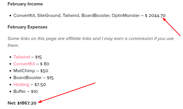 twinsmommy income report