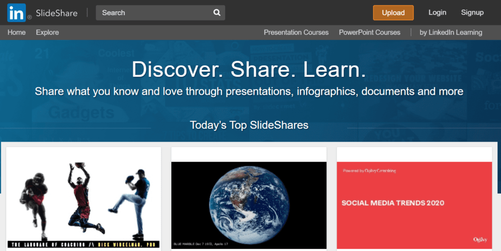 slides share infographic submission site