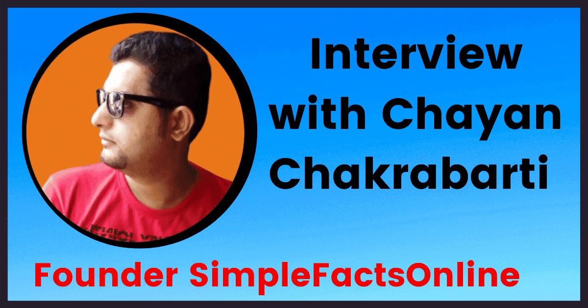 Interview with Chayan Chakrabarti