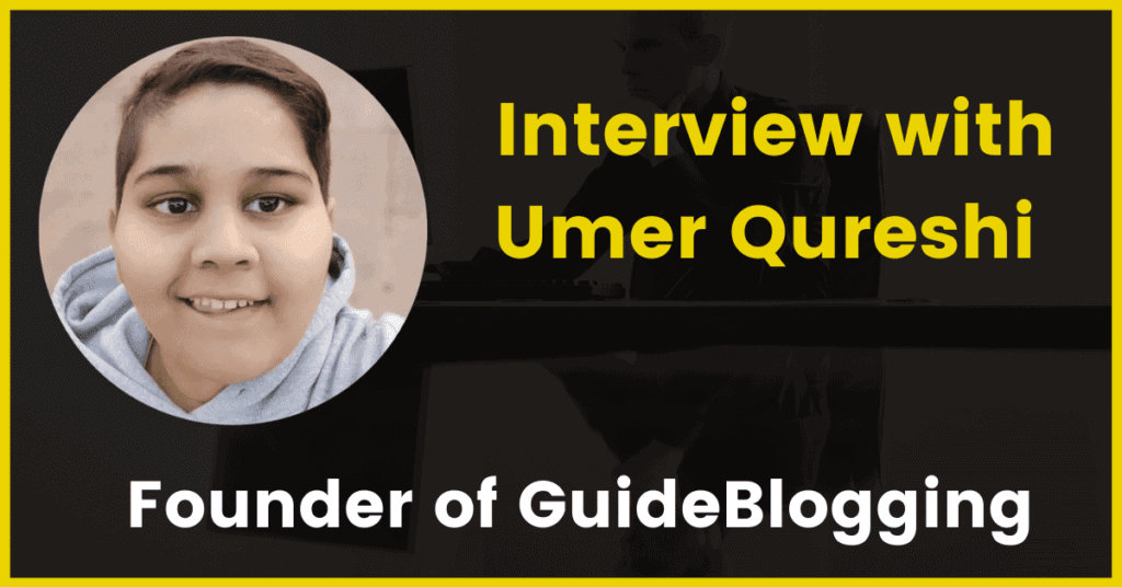 Interview with Umer Qureshi
