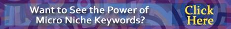 micro niche keywords