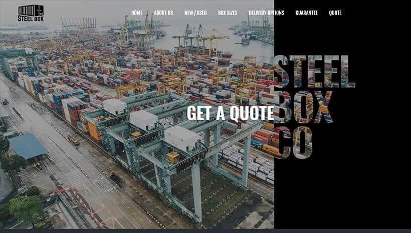 Steel Box co website