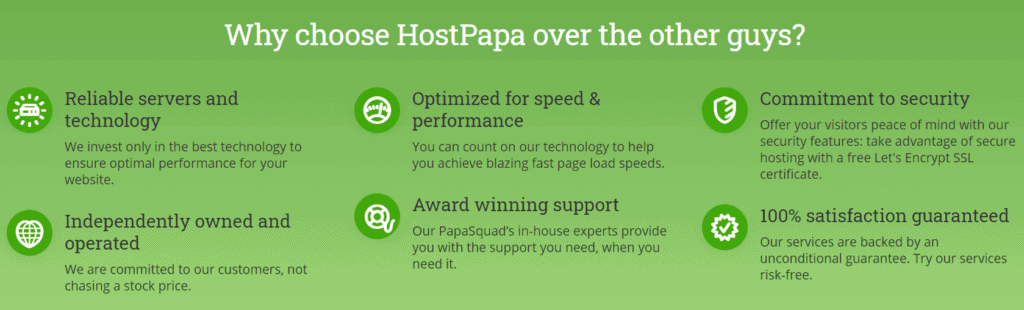 why choose host papa
