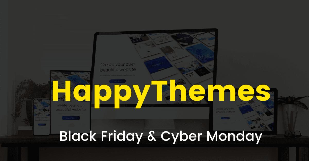 HappyThemes black friday sale 2020