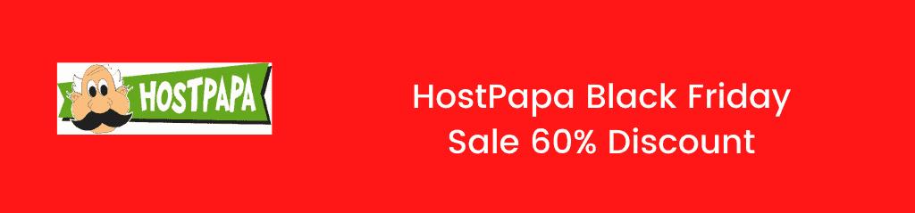 HostPapa Black Friday sale 2020