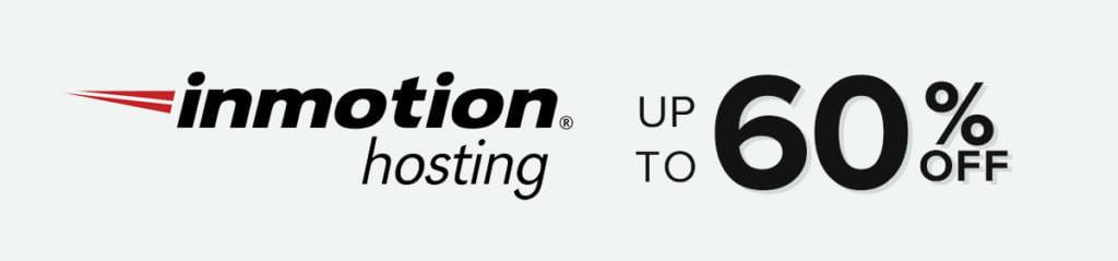 inmotion black friday sale 2020