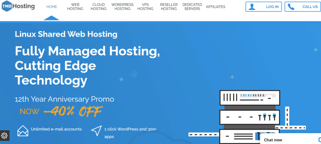 tmd hosting home page