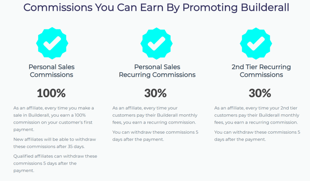 Builderall affiliate commission