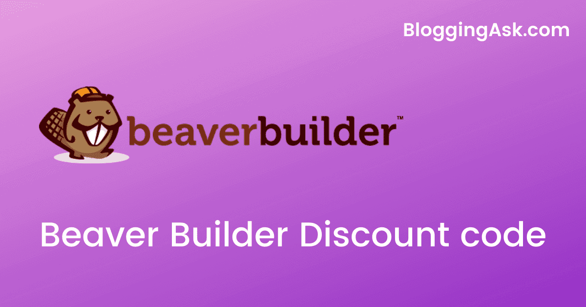 Beaver Builder Discount code