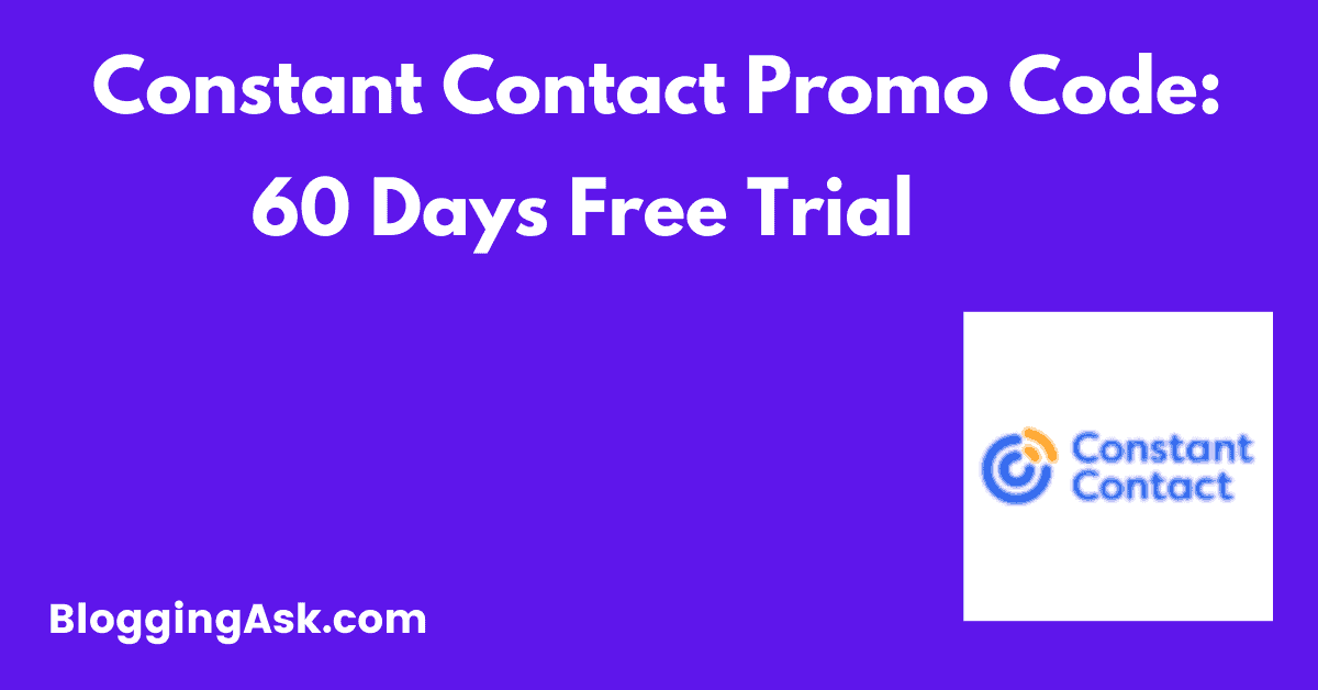 Constant Contact Coupon Code