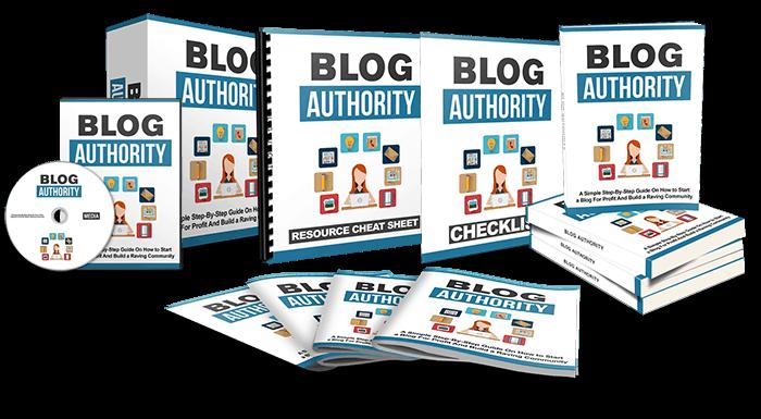 Blog authority ebook