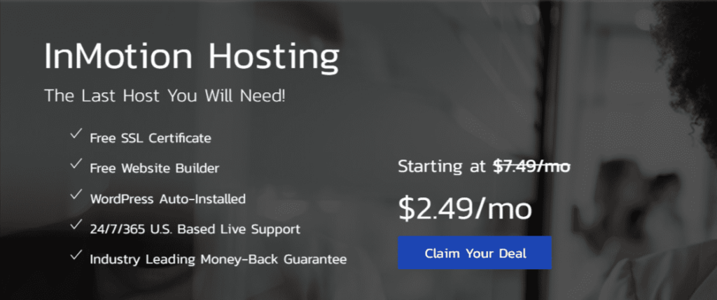 inmotion hosting promo code