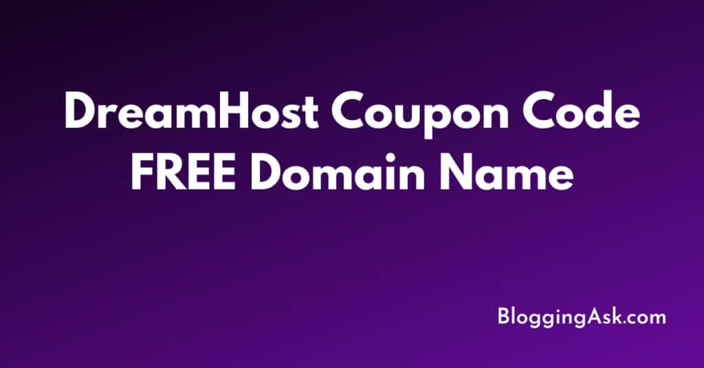 DreamHost Coupon Code