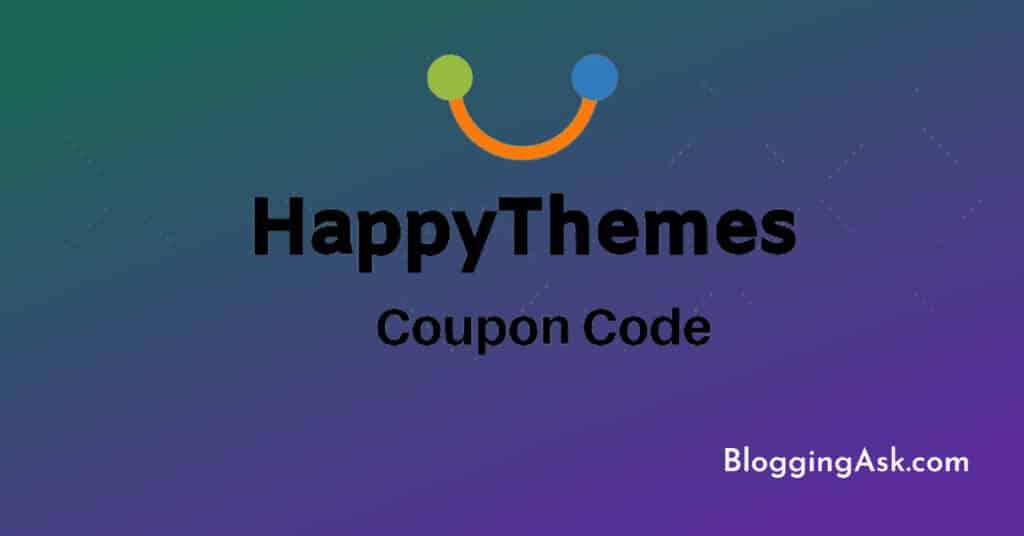 HappyThemes Coupon Code 2021 – Flat 50% Discount 1