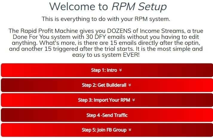 Rapid-profit-machine-set-up