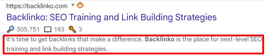 backlinko blog discription