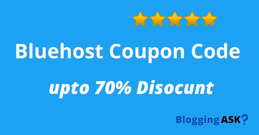 Bluehost Coupon Code | 2021 Deal | 82% OFF + Free Domain 1