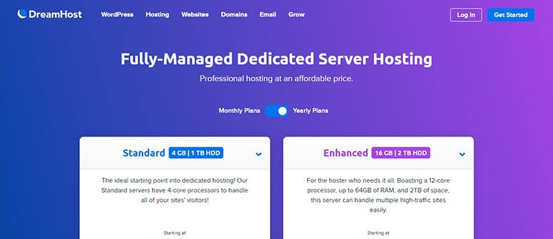 dh-dedicated-server